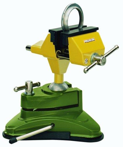 Preisvergleich Produktbild Proxxon Feinmechaniker Schraubstock FMS 75, 1 Stück, grün / gelb / silber / schwarz, 28602