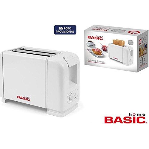 Basic Home by02013466514Toaster, 700W, 2Schlitze, weiß (Basic-toaster)