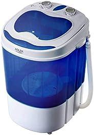 Adler AD8051 Machine à Laver (Blanc/Bleu)