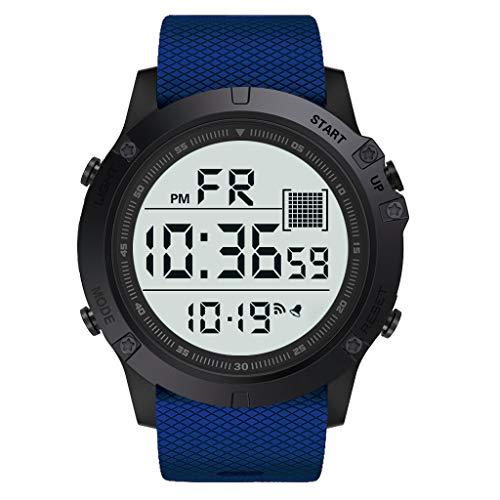 waotier Reloj Deportivo para Hombre/para Mujer Relojes Deportivos Reloj De Pulsera Digital LED para Exteriores Resistente Al Agua Accesorios con Correa De MuñEca Reloj