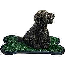 Perro De Entrenamiento De Orinal Pad, Césped Artificial Para Mascotas Patch Para Los Perros A Orinar En Grande Para El Entrenamiento Del Pañal Del Perrito ...