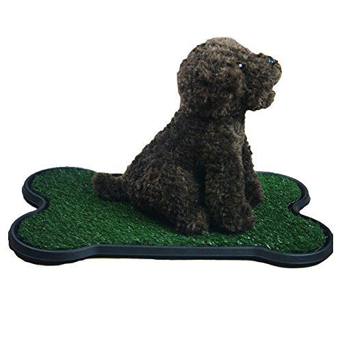 YAOBAO Hund Töpfchen Training Grass Pad, Künstliche Pet Grass Patch Für Hunde Zu Pinkeln auf Große Für Welpenpotty-Training als Indoor/Outdoor-Wurfbox (Hund Großer Pinkeln Pads)