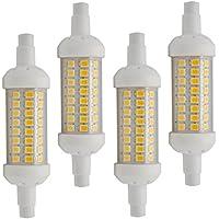 R7S LED Lampen 3014SMD Halogenstab Stab Fluter Leuchtstab Kaltweiß 220V 78mm 10W