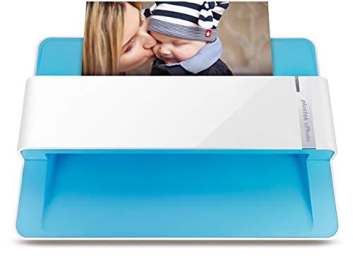 Plustek Foto Scanner - ePhoto Z300, German Design Award 2018, Scannt 4x6 Foto in 2sec, Automatische Ausrichtung und Zuschnitt mit CCD Sensor. Unterstützt Mac und PC
