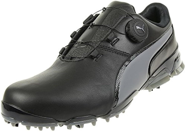 Puma Titantour Ignite Disc Men Golfshoes Golf Leather 189427 02, tamaño de Zapato:EUR 39