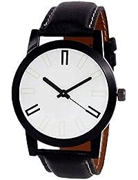 Gopal Shopcart Black Stylish Pattern Watch GR_01_Black Watch - For Men