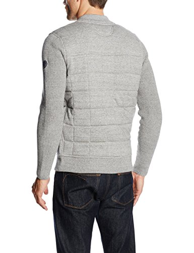 Marc O'Polo Herren Strickjacke Grau (grey melange 936)