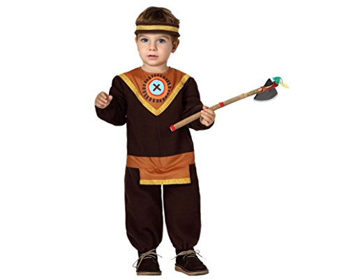 Little Indian Kleinkind Kostüm - Atosa 8422259161196 - Verkleidung Indianer, Baby,