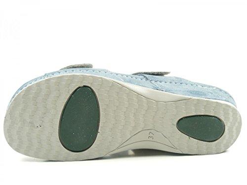 Rohde Giessen-40, Mules Femme Bleu jean