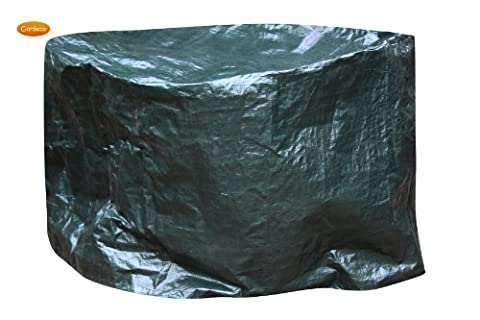 Extra Large Waterproof Firepit / Firebowl Cover Up To 110cm Diameter x 65cm High - Suitable For Clay And Metal Fire Bowl