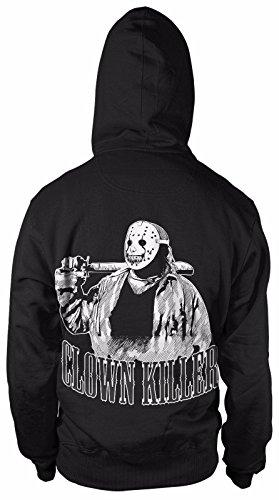 Clownkiller Jason Kapuzenpullover Sweatshirt Hoody Horror Clown Film Movie Dead Blut Hoody