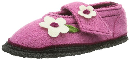 Beck Flower, Chaussons Doublé Chaud Fille Rose (03)
