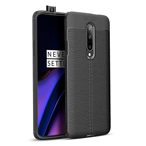 Olixar OnePlus 7 Pro Leather Back Case - Coque arrière de Protection...