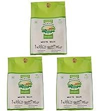 ELWORLD AGRO & ORGANIC FOOD PRODUCTS White Suji Semolina Flour- 500gX2 - Pack of 2