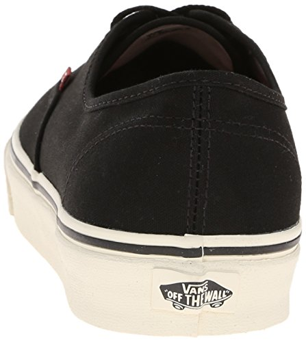 Vans Unisex-Erwachsene Authentic Low-Top Schwarz ((Sport Vintage) FLO)