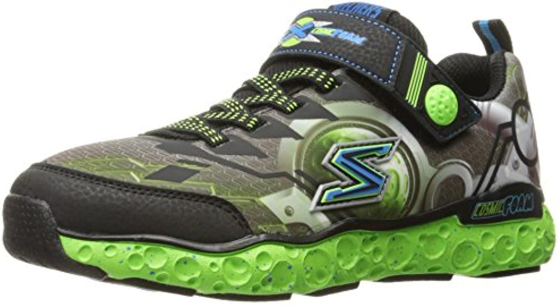 Skechers Kids Boys' Cosmic Foam futurist Sneaker  Black/Lime  11.5 M US Little Kid