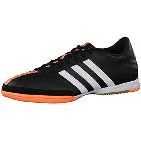 Adidas 11Nova IN scarpe da calcio Indoor, modello 2015, Uomo, B44394, nero, 46 EU