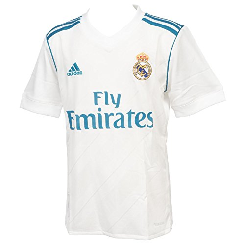 5e8e3ca093a Adidas Boy s Real Madrid Home Short Sleeve Jersey