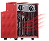 AGT Heizung: Profi-Industrie-Elektro-Heizlüfter mit 2.000 Watt und 2 Heizstufen (Bauheizlüfter)