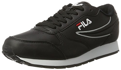 Fila Damen Women Base Orbit Low Wmn Sneaker Schwarz (Black)