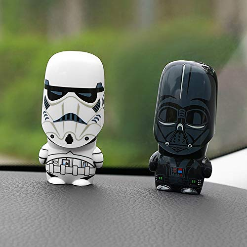 kgftdk Auto-Verzierungs-Nette Automobildekorations-Puppe Für Star Wars Darth Vader Stormtrooper-Action-Figur-Automobile