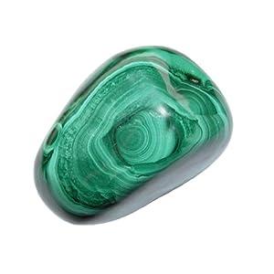 Malachit Handschmeichler ca. 20 – 30 Gramm SUPER A*Qualität schöne Farbe und Maserung (2415)