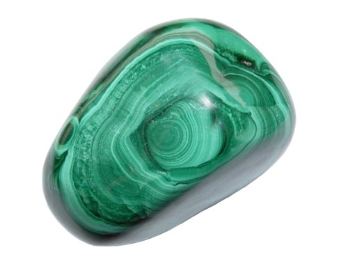 Malachit Handschmeichler ca. 20 - 30 Gramm SUPER A*Qualität schöne Farbe und Maserung (2415)
