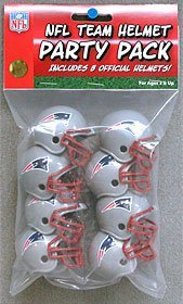 Preisvergleich Produktbild New England Patriots 8pc Gumball Party Pack