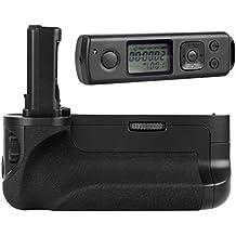 Khalia-Foto - Empuñadora con batería para Sony Alpha 7 (2 baterías y disparador remoto con temporizador, similar a VG-C1EM)
