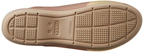 Crocs Colorblock W, Ballerines - Femme Or (Bronze/Tumbleweed)