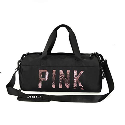 Pink Sporttasche Damen Reisetasche Victoria Beach Schultertasche Große Kapazität Bolsa Secret Crossbody Sporttasche Black - Victoria Secret Größen