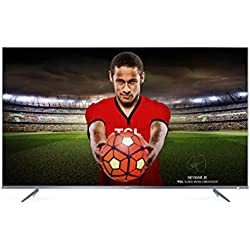 TCL 55DP648 55 Inch 4K Ultra HD HDR 10 TV with Smart Freeview Play - plata (2018 Model)