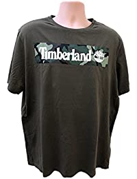 Timberland New Graphic Green Camo Top Tee SZ :XX-Large/XXL