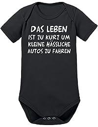 Touchlines Unisex Baby Body Das Leben Ist zu Kurz.