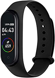 Doneioe M4 Intelligent Watch Sports BT Orologio da Polso Impermeabile Pressione sanguigna Monitoraggio frequen