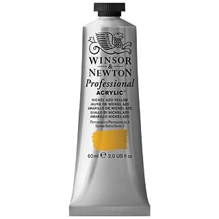 Winsor & Newton 60 ml Professional Acrylic Colour - Nickel Azo Yellow