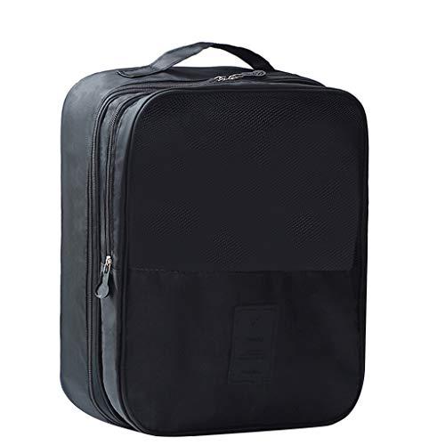 Reisetasche Handgepäck,Rifuli® Twill Oxford Stoffschuhe Reisespeicher Dreischichtiger Schuhbeutel Aufbewahrungstasche Storage Organizer Plastic Storage Box Sortierkästen