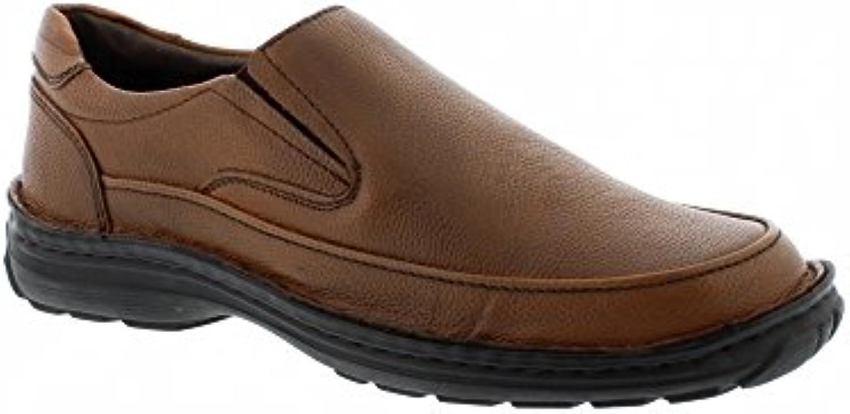 Heavenly Feet Ingleton - Brown Leather