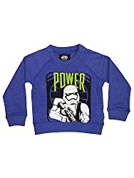 Star Wars Boys Sweatshirt (SW1CSB871_ROYAL BLUE MELG._4/5)