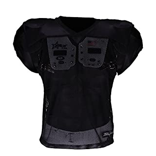 Active Athletics American Football Trainingsshirt schwarz S/M