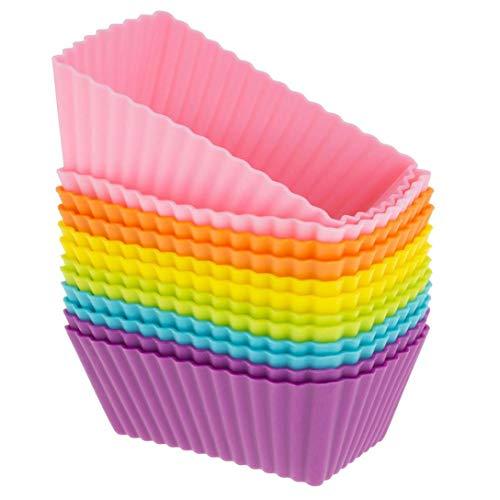 Backen Cupcake Cases Muffin Küche Handwerk Kuchen Cup Zufällige Farbe 2PC ()