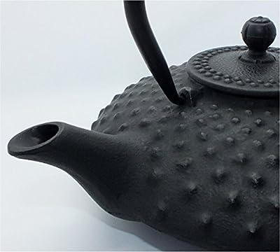 teeblume - Théière en fonte Kambin 0,8 l noire