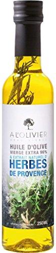 A L'Olivier - Olivenöl mit Kräutern der Provence - 250ml (Französisch-kraut-salat-dressing)