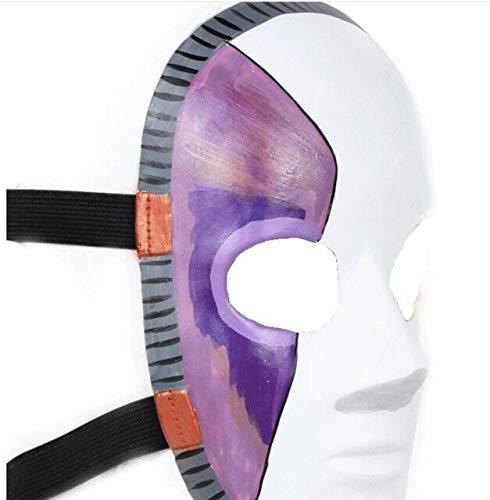 Spiel Sally Face Cosplay Maske Horror Halloween Party Latex Masken Kostüm Requisiten Drop Shipping, als das Bild