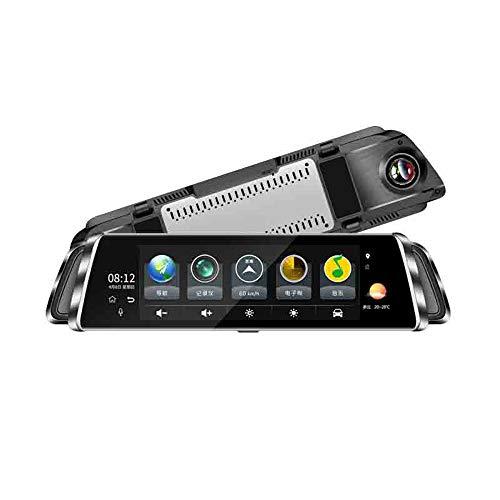 4G Streaming DVR De 10 Pulgadas De Pantalla Completa HD Smart Rearview Mirror 1080P HD Cámara De Navegación Android GPS...