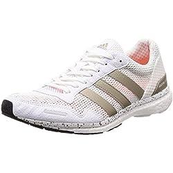 adidas Adizero Adios, Zapatillas de Running para Mujer, Naranja (Ftwwht/Cybemt/Cblack), 38 2/3 EU