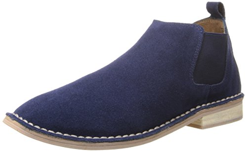 Steven Steve Madden Dylyn Daim Bottine Navy