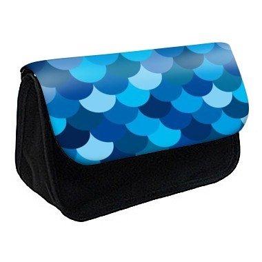 Youdesign - Trousse à crayons / maquillage personnalisée bleu -67 - Ref: 67
