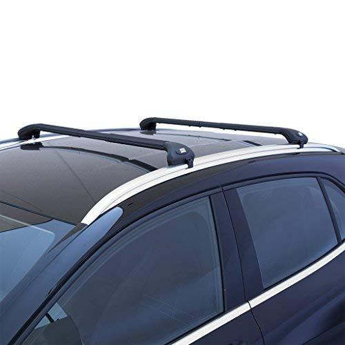 Fabbri Forge aw69/3008barres de toit Railing intégré Noir pour voiture à partir de 2016