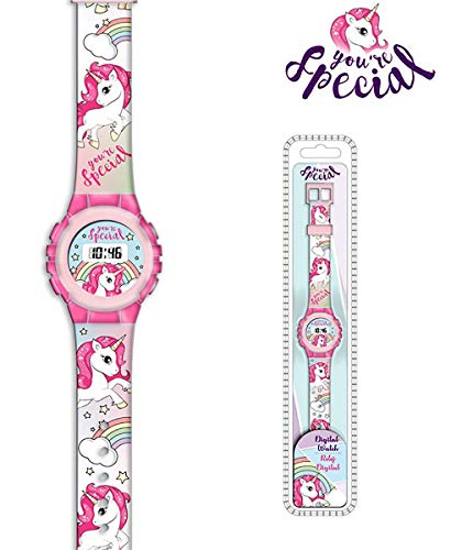 Unicornio KL10096. Reloj Digital